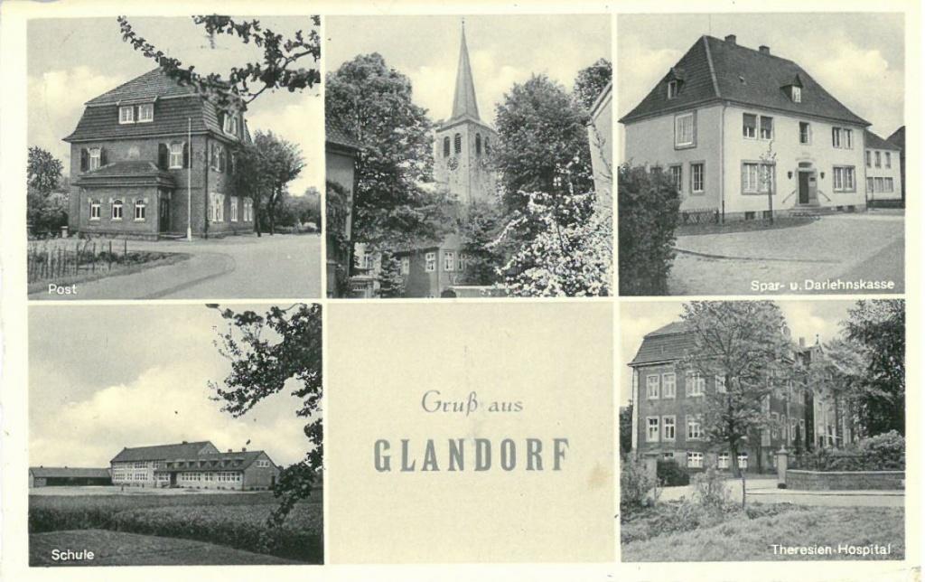 Postkarte Glandorf