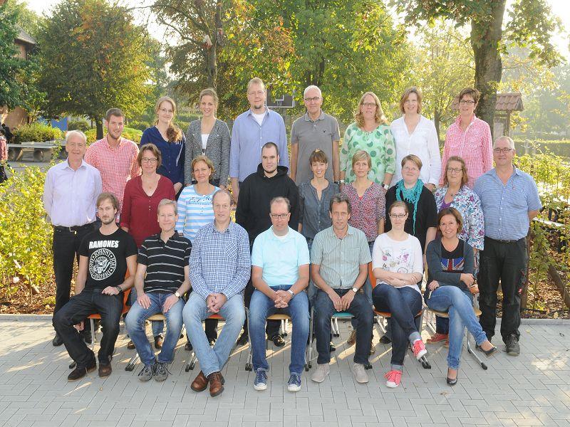 Kollegium 2014-15 I (es fehlen leider viele Kollegen)
