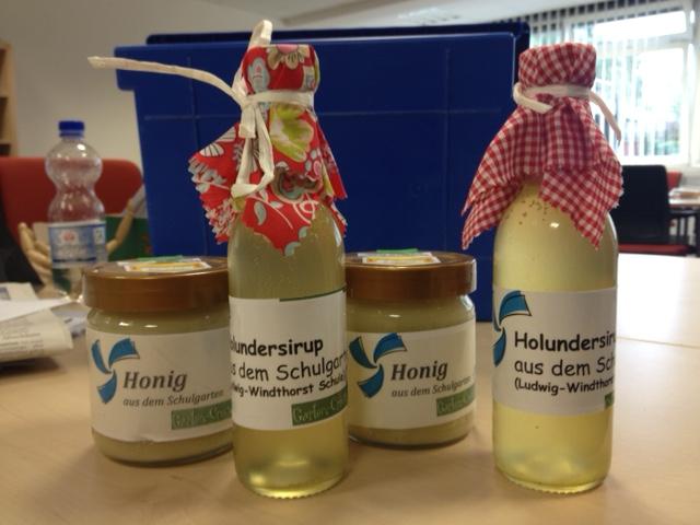 Honigverkauf 2015 (1)