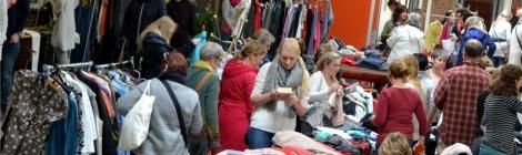 Frauenflohmarkt in der Glandorfer Oberschule