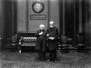 Ludwig Windthorst im Reichstag