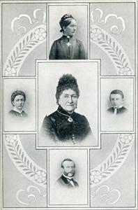 Julie Engelen und die 4 Kinder