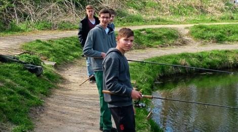 Glandorfer Schüler angeln weiter