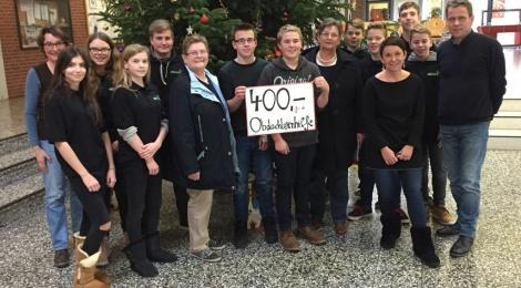LuWis spenden für die Obdachlosenhilfe Glandorf