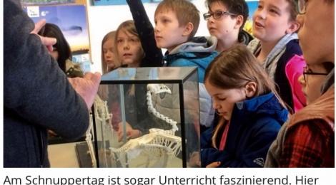 Trommeln für die Neuen: Schnuppertag an der Ludwig-Windthorst-Schule in Glandorf