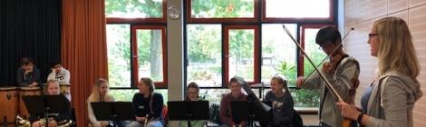 Geige meets Bläserklasse