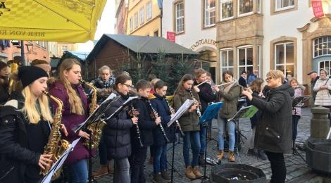 Lu-Wi-Winds on tour: Weihnachtsmarkt Osnabrück