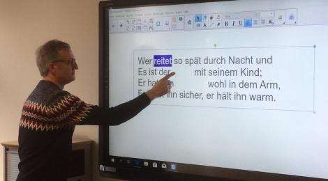 Speichern unter... Fortbildung zum Umgang mit digitalen Tafeln