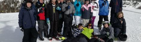 Skifreizeit 2019 - LuWis auf der Piste