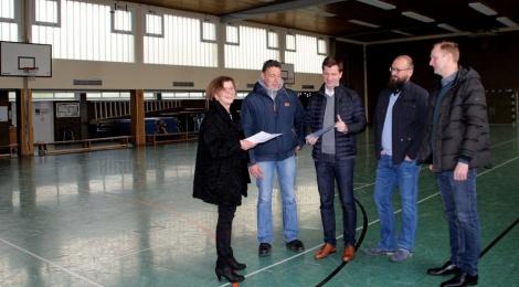 Erleichterung in Glandorf: Bund hilft bei Turnhallensanierung