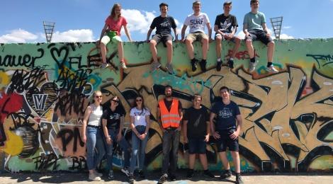 LuWis on tour: Die 9er grüßen aus Berlin