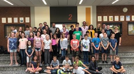 Bläserklassen-Workshop und Monsterorchester