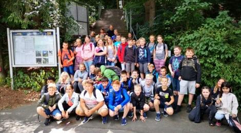 Wandertag 2019 - Kl. 5 und 6