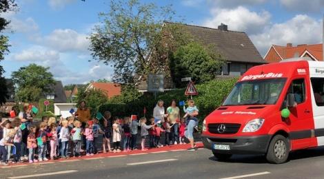 Flashmob für den Bürgerbus