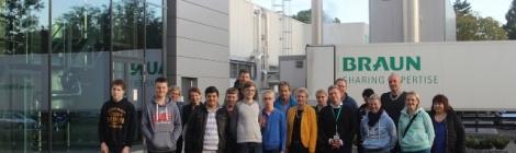 GenerationenWerkstatt der B. Braun Avitum AG mit Glandorfer Schülern