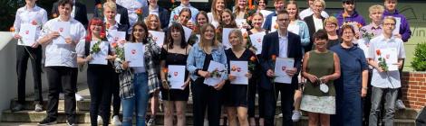 54 junge Leute verlassen Ludwig-Windthorst-Schule Glandorf