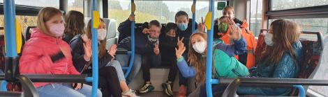 Ab in den Bus! - Bustraining für die 5er